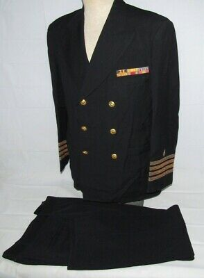 WW2 U.S. Navy Medical Captain's Tunic With Pants