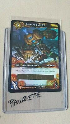 WOW World of Warcraft TCG Unscratched Loot Card Landro's Lil XT
