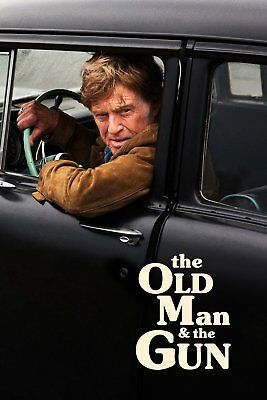old man and the gun dvd
