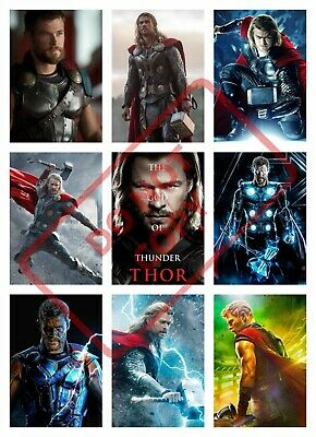 Thor Movie Poster Collage Wall Art (1) - Various Sizes Avengers/Chris Hemsworth