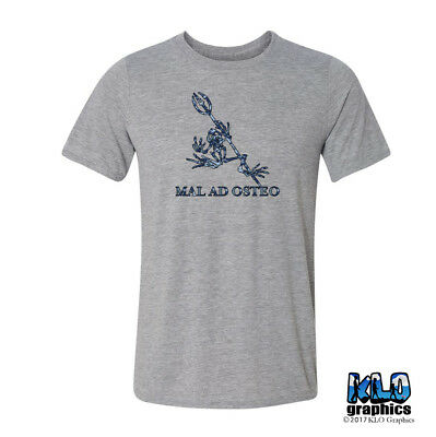 246896bde3679 BONE FROG NAVY SEAL MAL AD OSTEO T-Shirt Military FROGMAN Team Squad USA