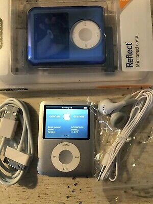 Apple iPod nano 3rd Generation Silver (8 GB) USED