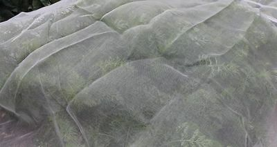 Ultra Fine Veggiemesh Insect Netting Garden Veg Protection 3.6m Wide Per Metre