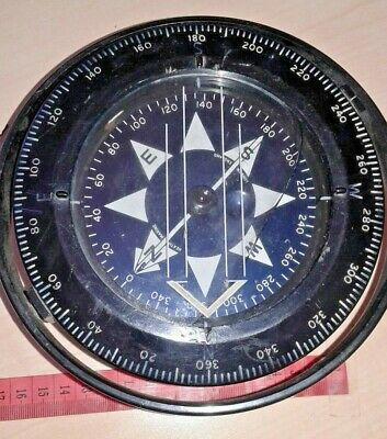 Healt Marine London England - Marine Compass Navy