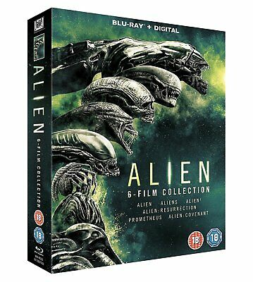 Alien - Complete Collection [Movies 1-6] (Blu-ray, 6 Discs, Region Free) *NEW*