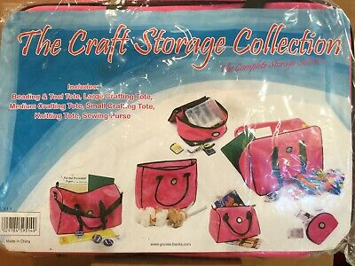 The Craft Storage Collection The Complete Storage Solution Craft Totes New (BG)