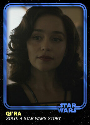 Topps Star Wars Card Trader SWCT 4th Anniversary Base Blue EXCLUSIVE Qira