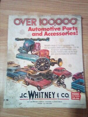 VTG 1966 JC Whitney & Co  Catalog No  231 242 Pages Of Great