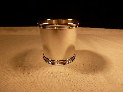 Tiffany & Co Sterling Silver Small Small Mint Julep Sipping Shot Glass No Mono