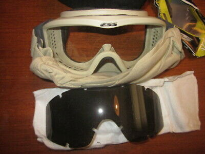 FREE SHIP ESS Profile Series Goggles Ballistic Military Tactical Profile paintba