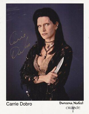 BABYLON 5 CRUSADE CARRIE DOBRO 1 hand signed