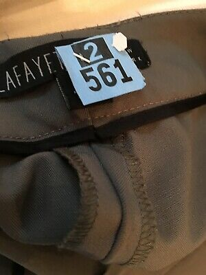 Ladies Lafayette Trousers 2 For One Price! Tan And Grey Great Buy! Size 14