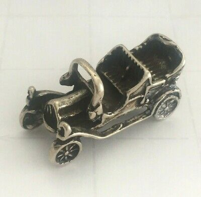 Vintage Sterling Silver Classic Car Miniature