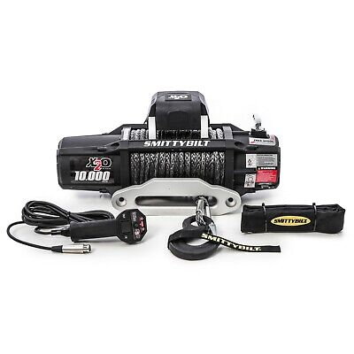Smittybilt 98510 X2O-10 Comp Gen2 Winch w/ 98' Synthetic Line - 10k