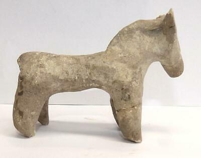 "Indus Civilization (Ca 2500 Bce) Terracotta Pottery Horse - 4 1/4"": Long"