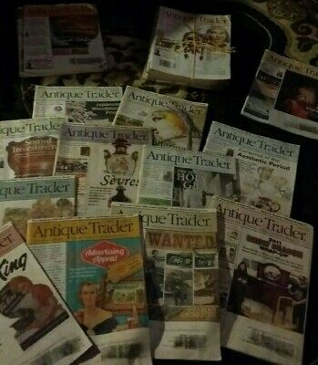 Antique Trader Antiques Magazine 50 total great condition