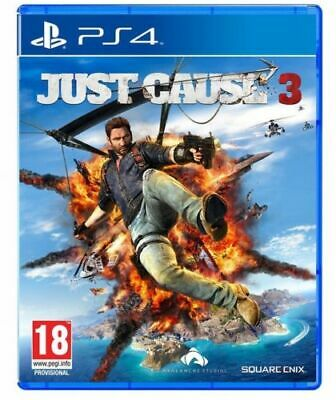 Just Cause 3 Ps4 Sony Playstation 4 Nuovo Italiano Square Enix