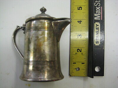 Antique Vintage Essex S.P. Co Mini Pitcher