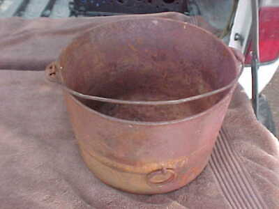 Cast Iron Wagner Sydney #8 Pot 1800S Very Rare, Antique, Rusted, No Cracks