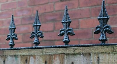 Wrought iron fence/security spikes/decorative railings £16.99