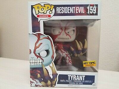 "Funko POP! Games #159 Hot Topic Exclusive 6"" Resident Evil Tyrant Umbrella Corp"