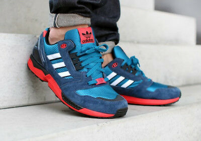 new arrival 12263 98f3a Basket Adidas Torsion ZX 8000 USA Vintage Max Air Sneaker ERS 5000 T 44,5