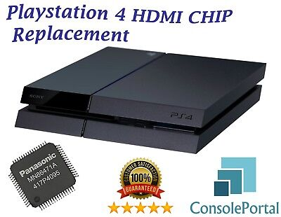 Playstation 4 HDMI chip replacement service any other repairs Leeds