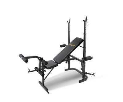 Multi Station Weight Bench Press Fitness Weights Equipment Flat Incline NEW