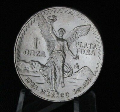 1986 Libertad 1 Oz Silver  In Air-Tite Case,free Shipping