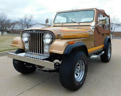 1982 CJ CJ7 1982 Jeep CJ 4WD FRAME OFF ROTISSERIE RESTORED 319 MILES STUNNING CONDITION W@W!
