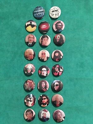 Rocky Horror Picture Show Set Of Twenty Three 1 Inch Pins The Transylvanians