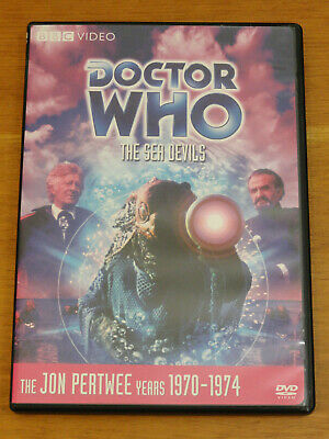 Doctor Who THE SEA DEVILS Story No. 62 DVD 2008 Jon Pertwee R1