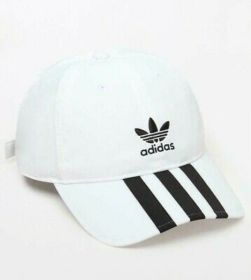 new style 065bd 88f7b Adidas Originals Relaxed Applique Strapback Hat Cap