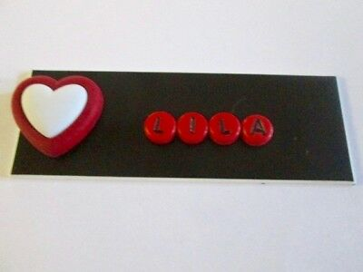 Id Name Tag Badge Magnet Or Pin Heart Medical,pediatric,office,nurse,icu,er