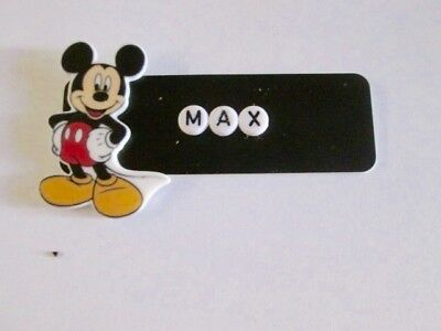 Id Name Tag Badge Magnet Or Pin Mickey Medical,pediatric,office,nurse,icu,nicu