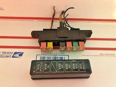 86-91 MAZDA RX7 FC3s - ENGINE FUSE BOX & COVER - $40.00 | PicClick on nissan rx7, no rotors rx7, stanced rx7, fc rx7, stance nation rx7,