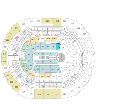 MICHAEL BUBLE Tickets  Staples Center LA  7/9~113 ROW 14 ~ NEXT TO STAGE, AISLE