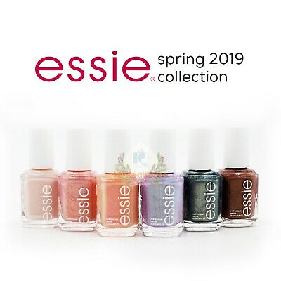ESSIE NAIL POLISH GARDEN TEA PARTY SPRING Limited COLLECTION 2019 ...