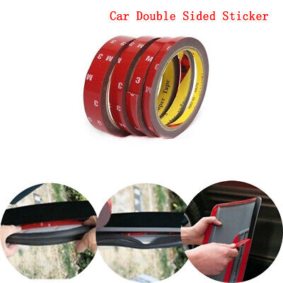 3M x 3/5/6/10/20 MM Car Double Sided Sticker Vehicle Adhesive Acrylic Foam Tape