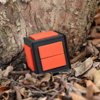 *NEW* Black Nightmare 13-Step Puzzle Box Geocache Container Geocaching  +3 Logs!