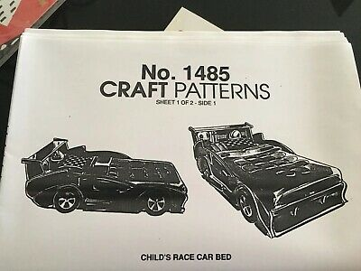 Car Bed Construction Pattern 1485