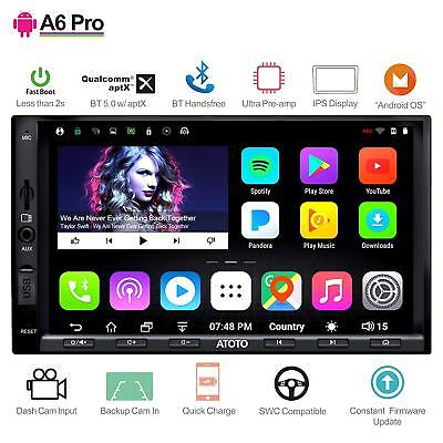 ATOTO A6 Pro 2 DIN Android Car Navi Stereo/A6Y2721PRB/HD IPS screen/2x Bluetooth
