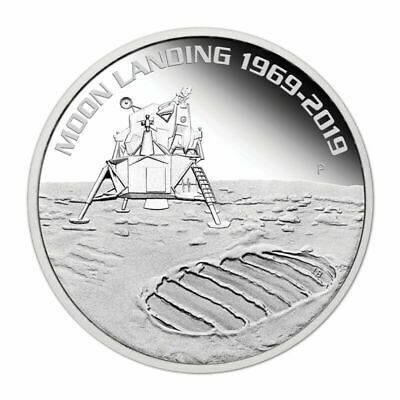 2019 50th Anniversary of the Moon Landing 1oz Silver  Coin