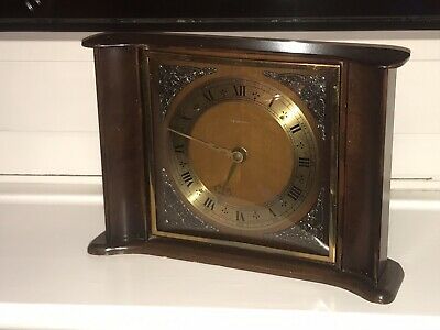 Smiths Tempora 8 Day Floating Balance Vintage Mantel Clock