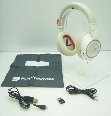 7668bb89141 Plantronics Voyager 8200 UC Bluetooth Wireless Noise Canceling Headphones  WHITE