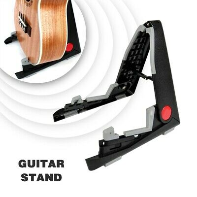 UK Folding Support Foldable Guitar Stand For Music Electric Ukulele Violin