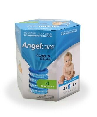 Angelcare Nappy Bin Refills 4 Pack