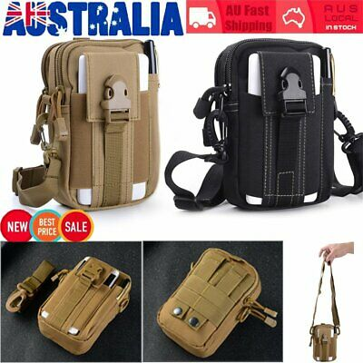 Waterproof Waist Fanny Pack Metal Detecting Finds Pouch Shoulder Camping Bag NU