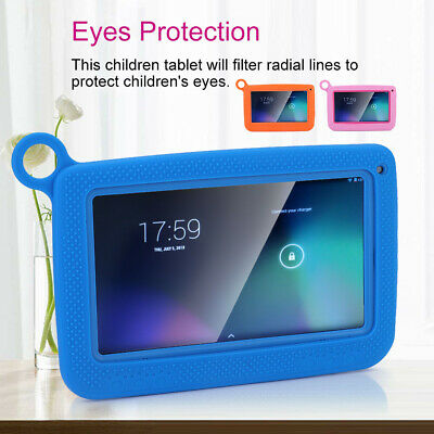 7inch 8GB Android 4.4 Quad Core Learning Tablet PC for Kid Children Education JJ