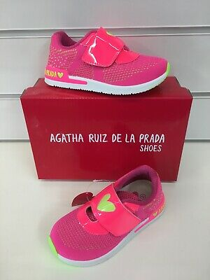 Agatha Ruiz De La Prada Infant Girls Sneakers In Fuchsia (New Season)